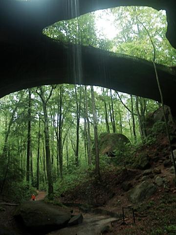 Becky Beneath Natural Bridge
