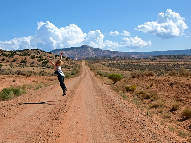 My Sister On the Road to Nowhere New Mexico