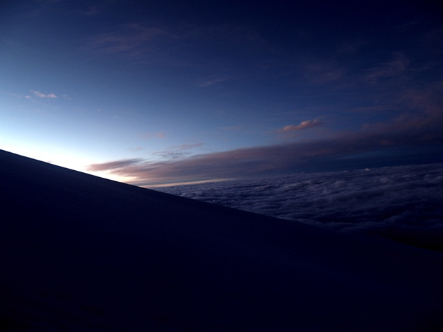 Dawn over the Andes