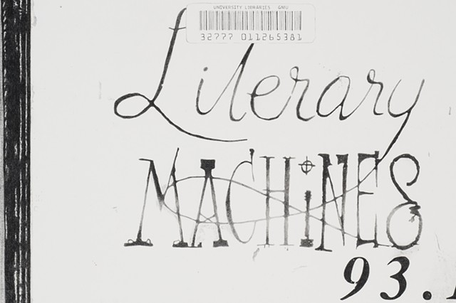 Pale Fire/Literary Machine (detail)