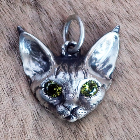 Custom CAT Charm Cat lover jewelry