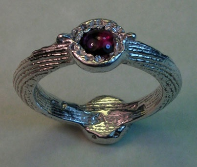 double side stamp ring