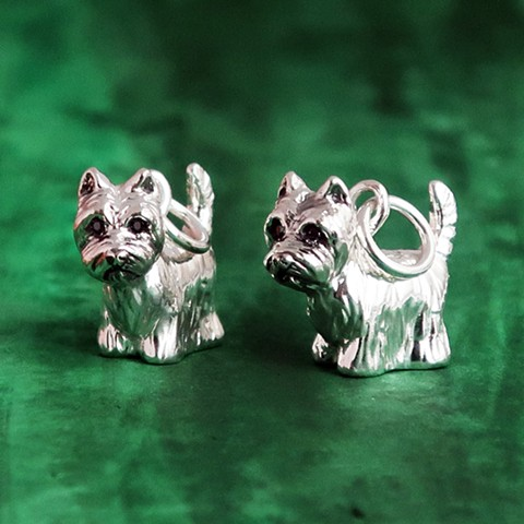 West Highland Terrier Charms.