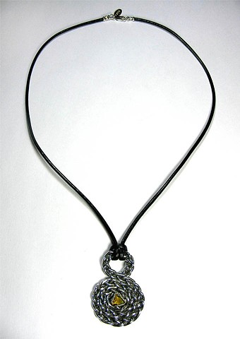 Amy's Infinity Spiral Necklace.