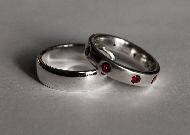 Wedding Rings for Nick & Maura