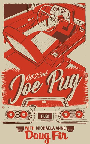 Joe Pug • Doug Fir 2019