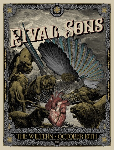 Rival Sons • Wiltern 2019