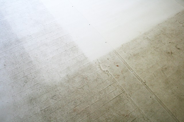 Studio Floor, 2008-2009 (detail)