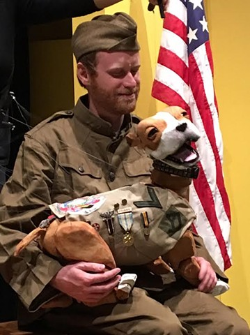 Stubby The WW1 War Hero Dog Marionette