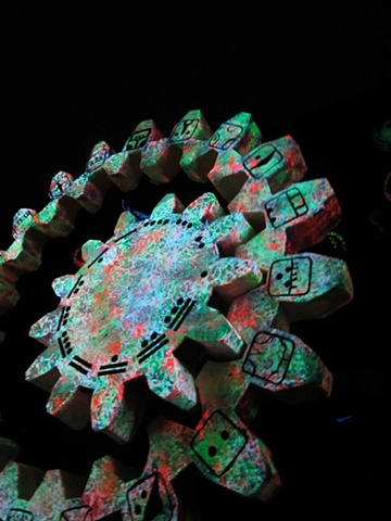 Mayan Calendar  - Giant Calendar Puppet