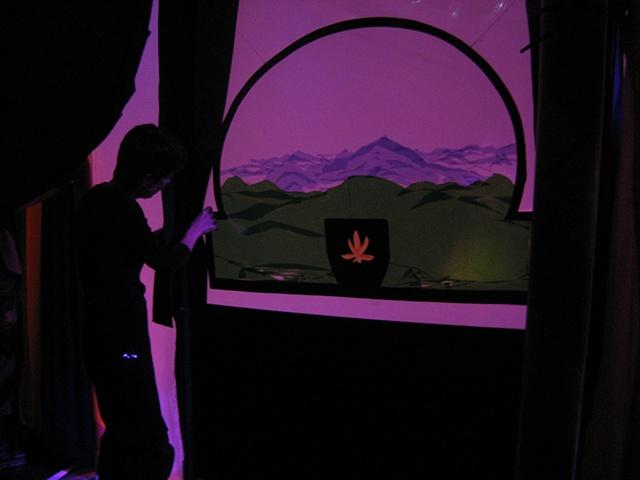 Backstage Shadow Scene