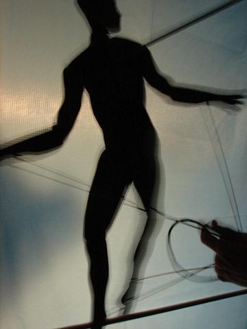 Acrobat Shadow Puppet