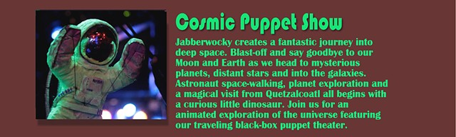 Cosmic Puppet Show