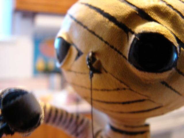 The Mummy Rod Puppet