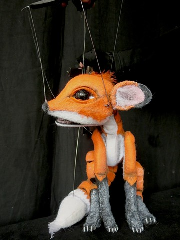 Little Fox marionette