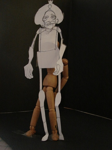 Model of King Bunraku Puppet