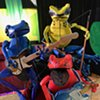 Adventures of the Dart Frog Puppet Band