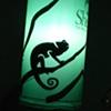 Lizard Shadow Puppet Lantern
