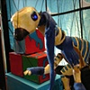 Marionette Dinosaur