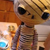 Mummy - rod puppet