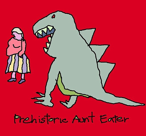 prehistoric aunt eater