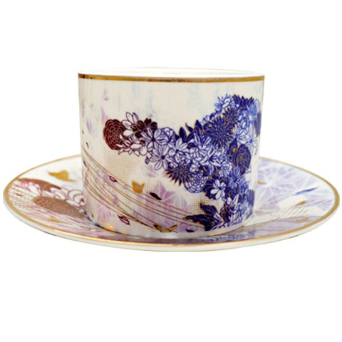 blossom (tea set) limited edition cup & saucer