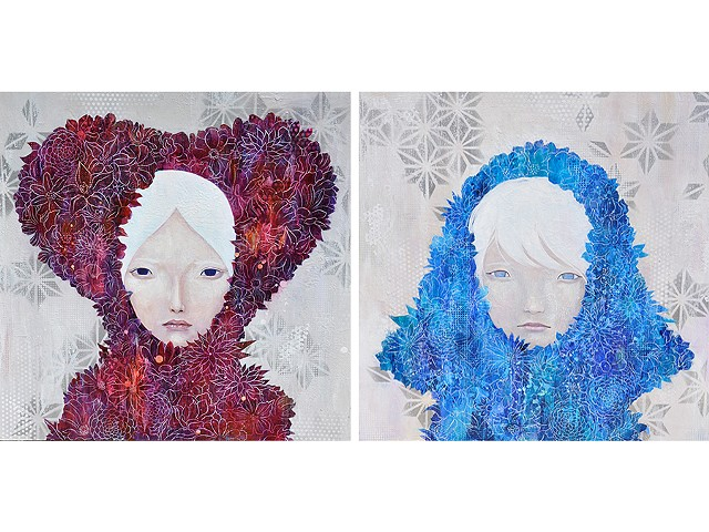 "left: "" autumn "" right: "" winter ""  from four seasons collection"