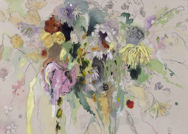Pastel Bouquet- Detail