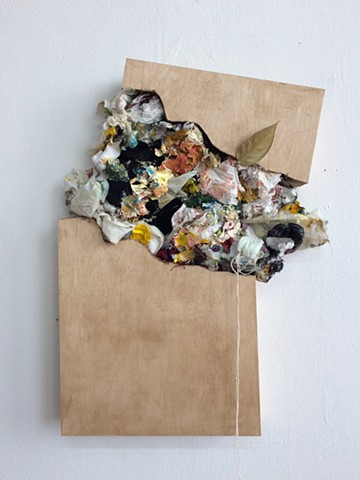 Collage Sculpture, Fabric Sculpture