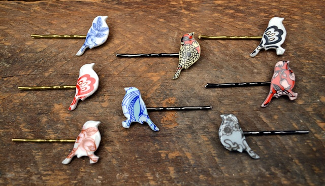 Bird Hairpins
