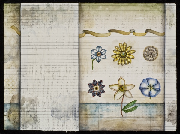 Botanical Notebook Page #28