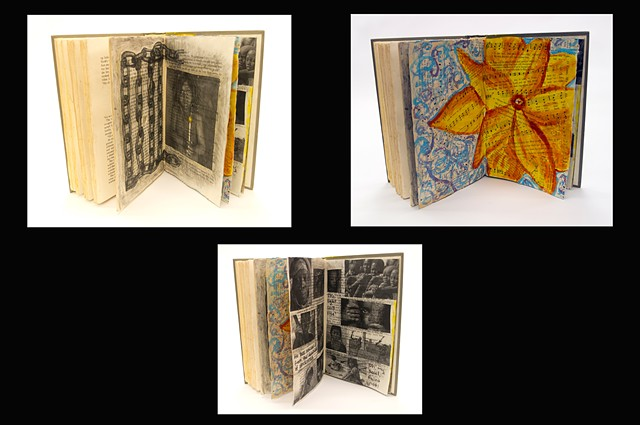 cultivating creativity - altered books