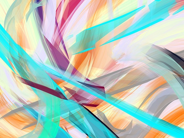 Abstract Painting Series