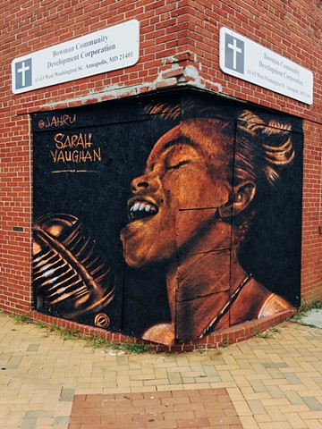 Sarah Vaughan Clay & W Washington Sts, Annapolis, MD