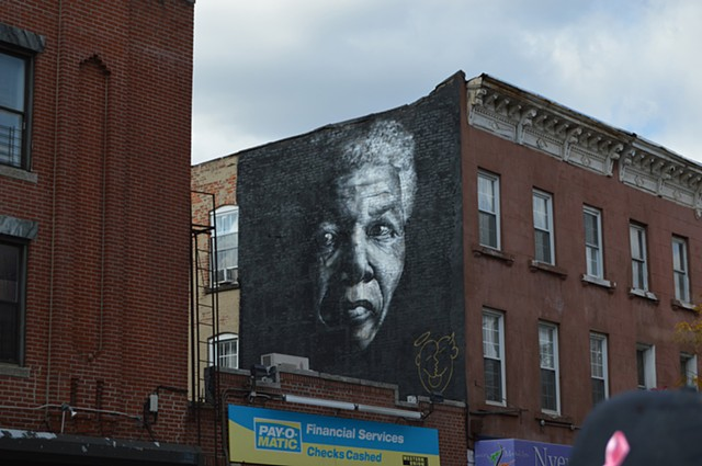 Mandela (street view) Brownsville, Brooklyn, NY