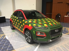 The Dragon Wagon Art-of-Motion Exhibit by Automotive Rhythms Washington Auto Show DC Convention Center