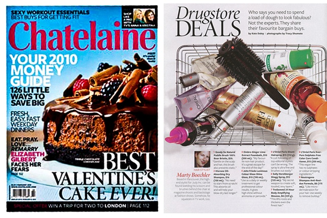 "CHATELAINE ""Deals"""