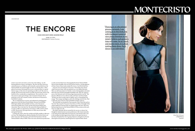 MONTECRISTO MAGAZINE (Editorial)