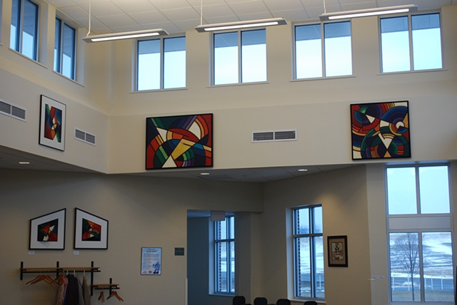 Installation at Family Practice Clinic, near Green Lake, Wisconsin, Cty A & Hwy 23.