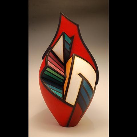 Acrylic on Clay, #3