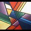 """Acrylic on Canvas #1420, 36x36"""""""