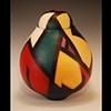 Acrylic on Clay #2004