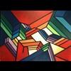 """Acrylic on Canvas, #1303, 36x48"""""""