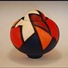 Acrylic on Clay Form