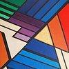 Acrylic on Canvas, Geometric variation #2543