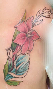 Flowers on Ribs