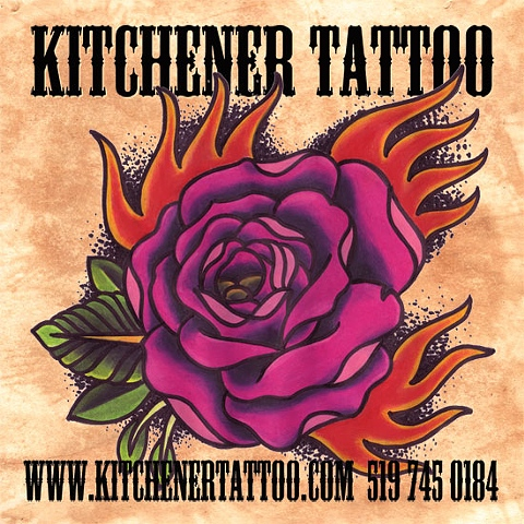 Kitchener Tattoo Custom tattooing Waterloo and Cambridge