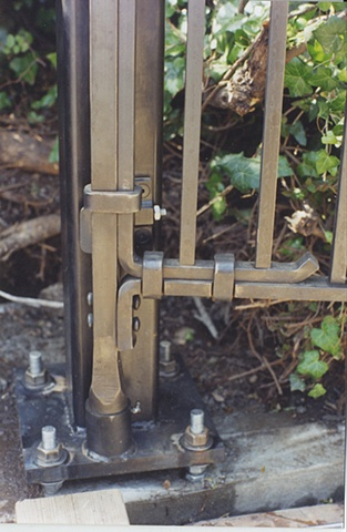 Robertson House Gate Pasadena Ca Metalmorphosis