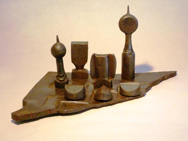 Chess set study Mid 80's