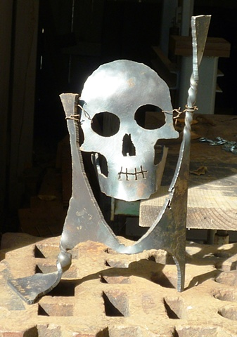 Playing w/ scrap & a plasma cutter